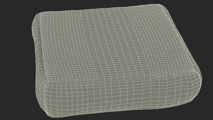 Pet Bed Generic royalty-free 3d model - Preview no. 20