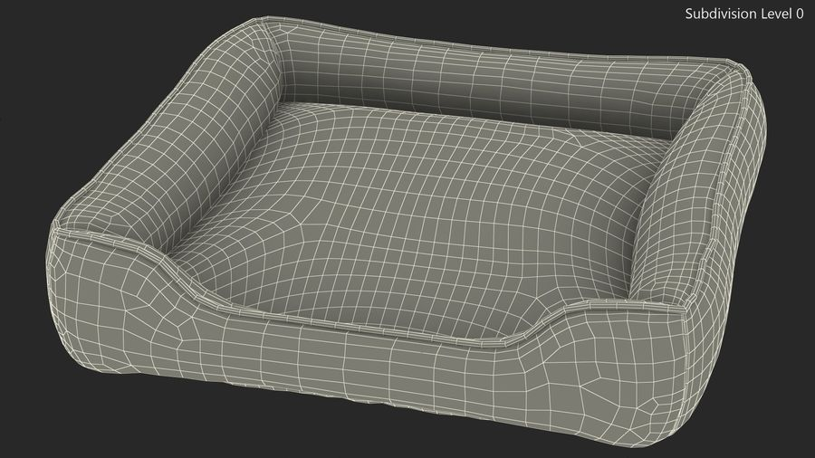 Pet Bed Generic royalty-free 3d model - Preview no. 12