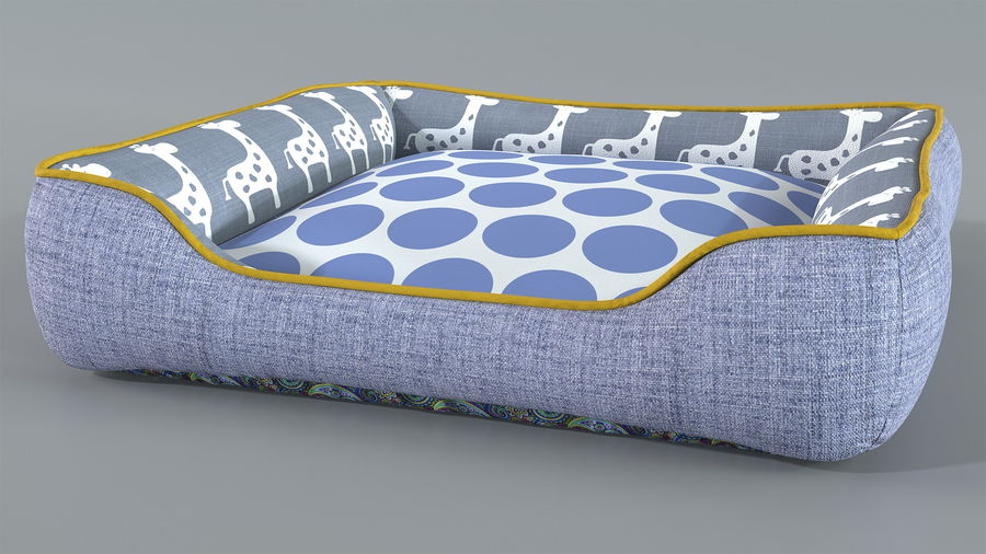 Pet Bed Generic royalty-free 3d model - Preview no. 4