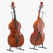 Cello 01 3d model