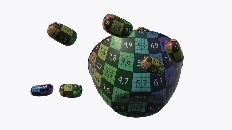 Godis mellanmål royalty-free 3d model - Preview no. 10