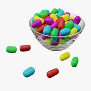 糖果零食 3d model