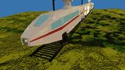 Game Ready Electric Train 3d model