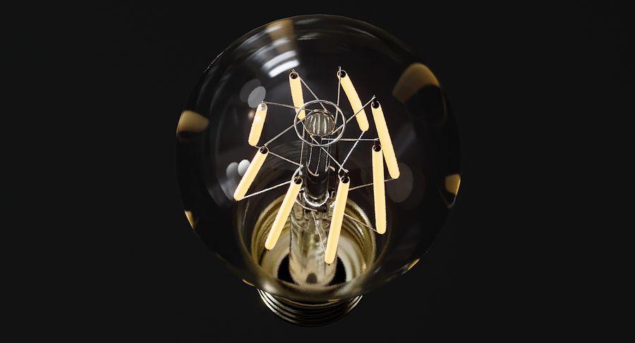Lampadina vintage 6 royalty-free 3d model - Preview no. 6