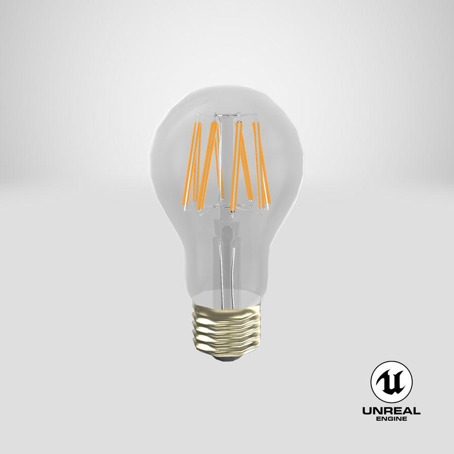 Lampadina vintage 6 royalty-free 3d model - Preview no. 21