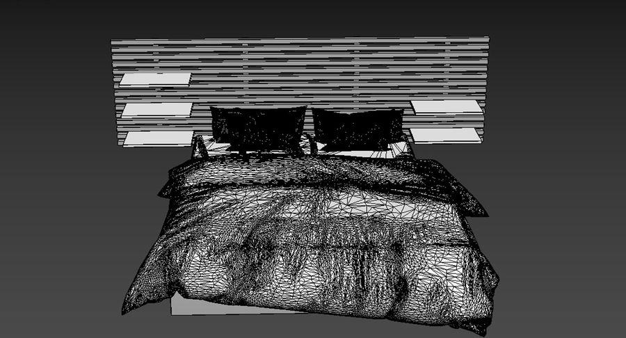 Slaapkamer set royalty-free 3d model - Preview no. 6