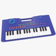 Tastiera elettronica per bambini 3d model