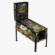 Pinball Jurassic Park 3d model