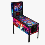 Pinball Stranger Things 3d model