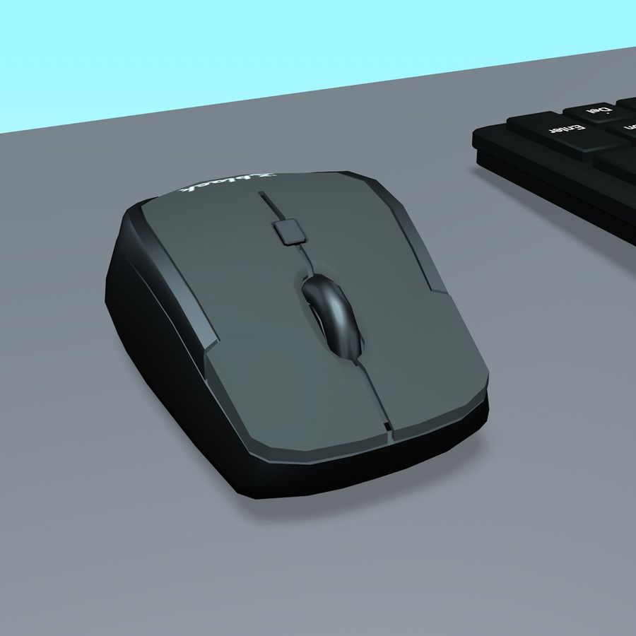 Computer royalty-free 3d model - Preview no. 13