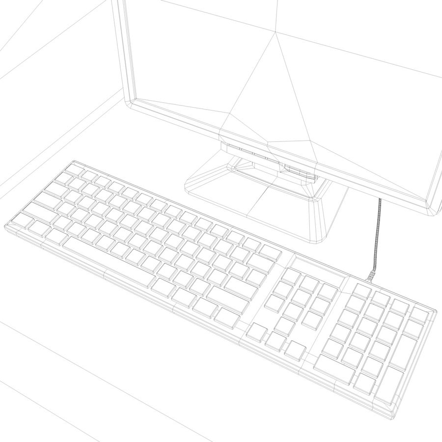 Computer royalty-free 3d model - Preview no. 27