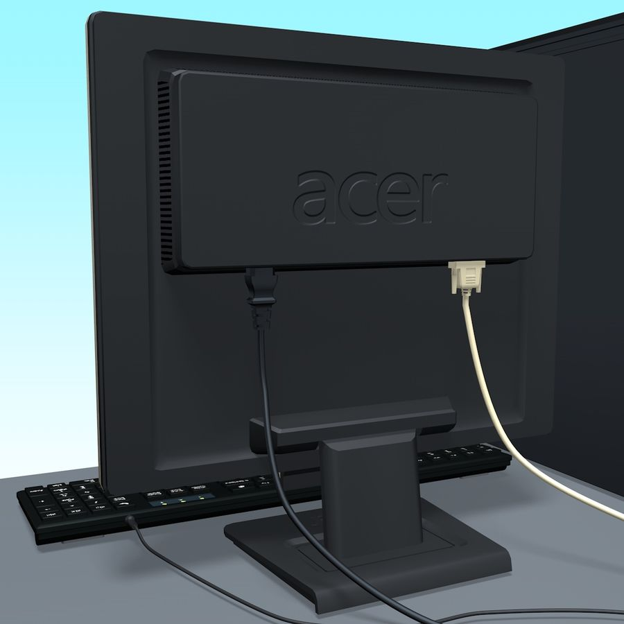 Computer royalty-free 3d model - Preview no. 14