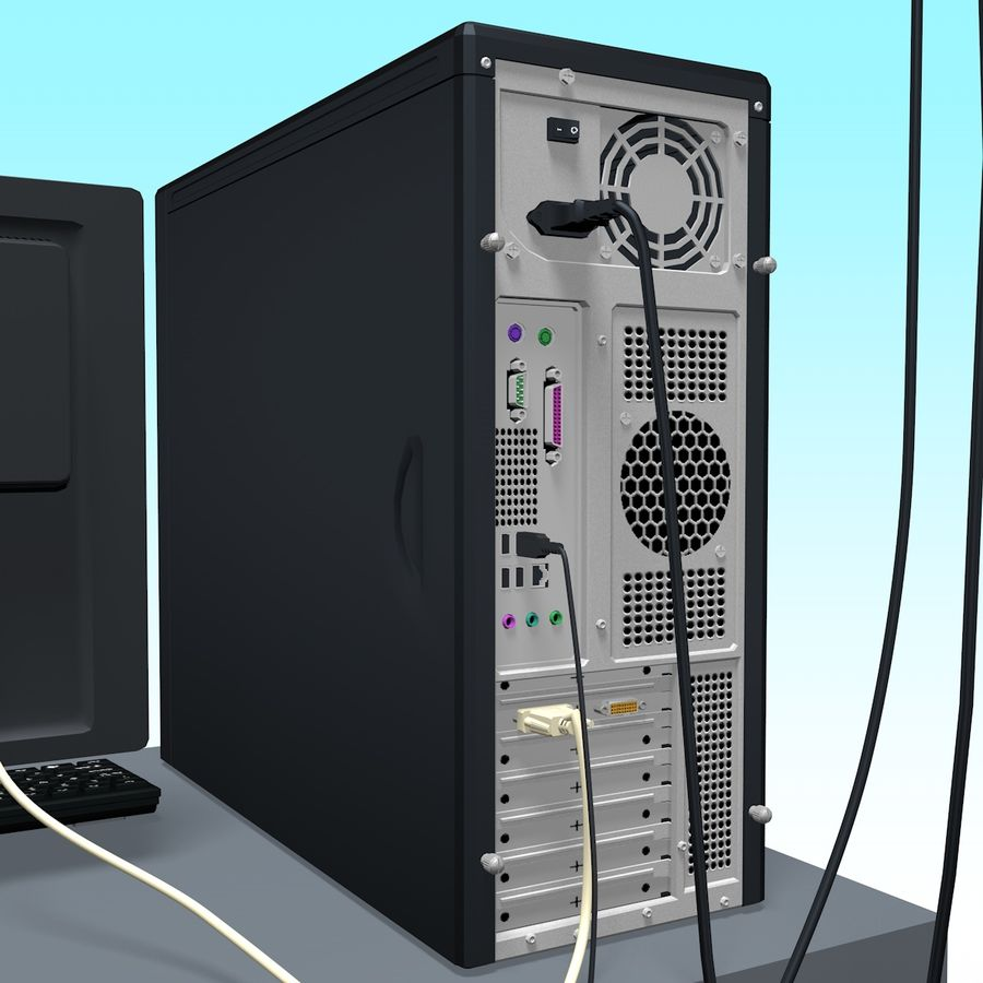Computer royalty-free 3d model - Preview no. 15