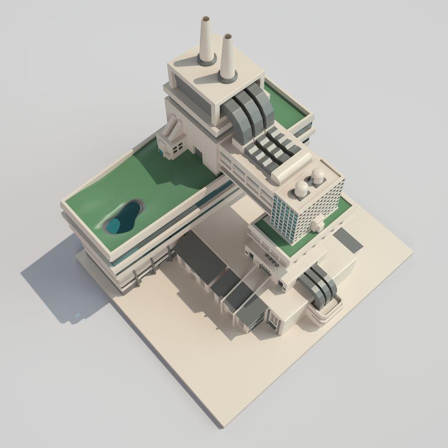 Ciudad del futuro royalty-free modelo 3d - Preview no. 4