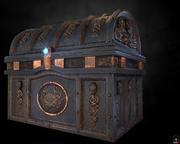 海盗宝箱 3d model