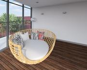 Öppna familjen inställning lounge 3d model