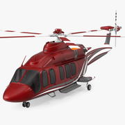 Bell 525 Relentless Corporate Helicopter 3d model
