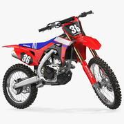 Motocross Bike Honda CRF250R 2018 manipuliert 3d model
