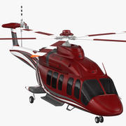 Bell 525 Relentless Corporate Rigged 3d model