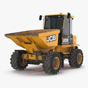JCB 6T-1 Cabbed Site Dumper Dirty 3d model