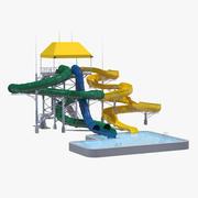 Body Slide Attraction 3d model