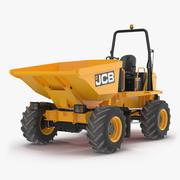 Dumper da cantiere JCB 6T-1 3d model