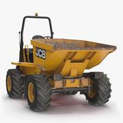 JCB 6T-1 Site Dumper Dirty 3d model