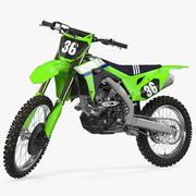 Motocross Bike Generic Rigged 3d model