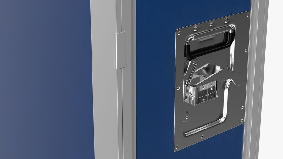 Full Size Waste Trolley royalty-free 3d model - Preview no. 13