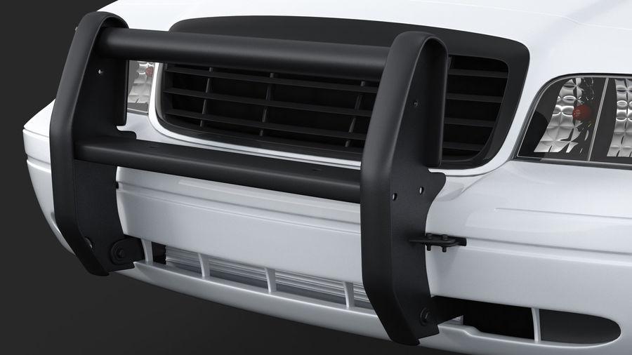 Ogólny samochód policyjny NYPD royalty-free 3d model - Preview no. 14