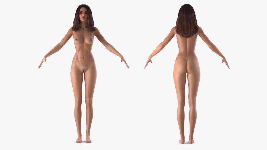 naken vuxen modell