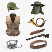 狩猎装备收藏4 3d model