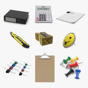 Stationery Collection 2 3d model