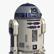 Star Wars Character R2 D2 Animated for Maya 3d model