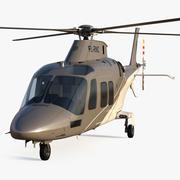 Agusta AW109S Grand 3d model