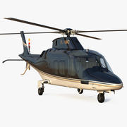 Agusta AW109S Grand Black 3d model