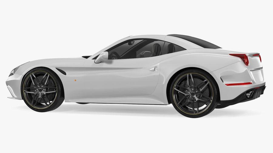 Generic Sport Car royalty-free 3d model - Preview no. 10