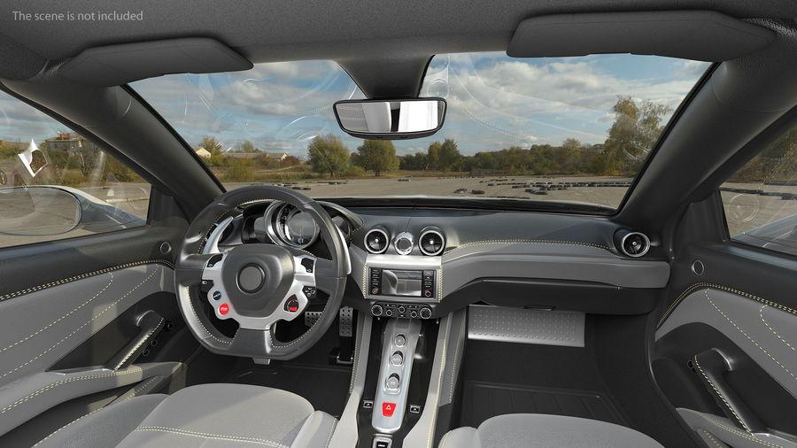 Generic Sport Car royalty-free 3d model - Preview no. 6