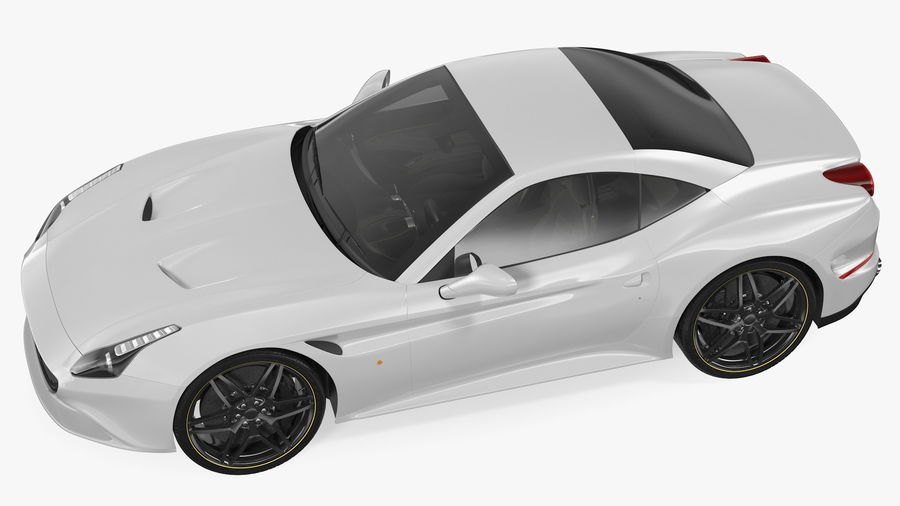 Generic Sport Car royalty-free 3d model - Preview no. 13