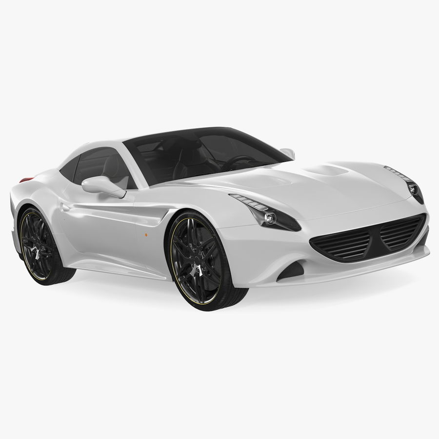 Generic Sport Car royalty-free 3d model - Preview no. 1