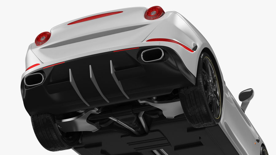 Generic Sport Car royalty-free 3d model - Preview no. 17