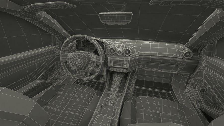 Generic Sport Car royalty-free 3d model - Preview no. 26