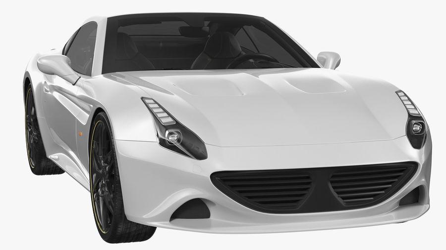 Generic Sport Car royalty-free 3d model - Preview no. 8