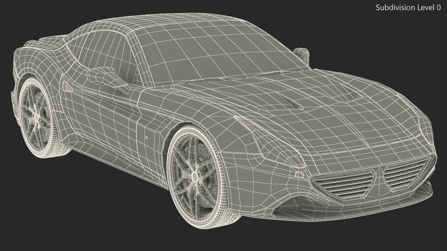 Generic Sport Car royalty-free 3d model - Preview no. 19