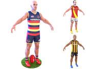 Australischer Fußballspieler 4K 3d model