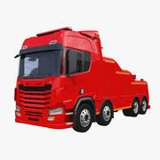 通用救援车 3d model