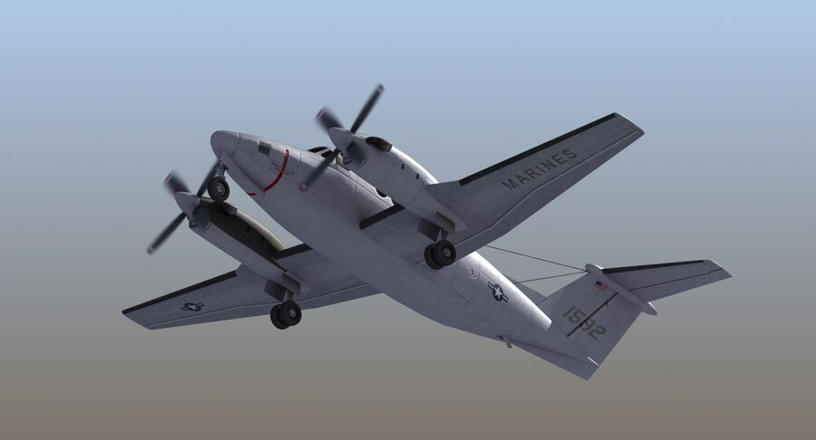 C-12休伦 royalty-free 3d model - Preview no. 22