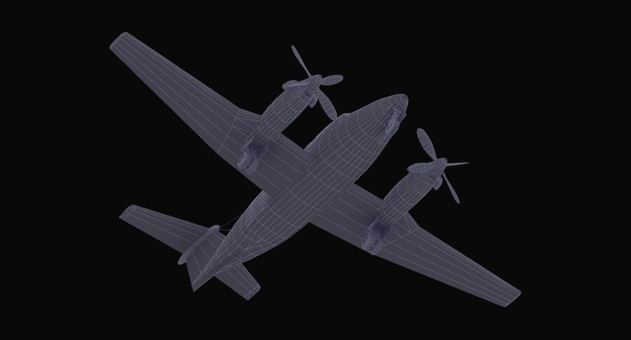 C-12休伦 royalty-free 3d model - Preview no. 42