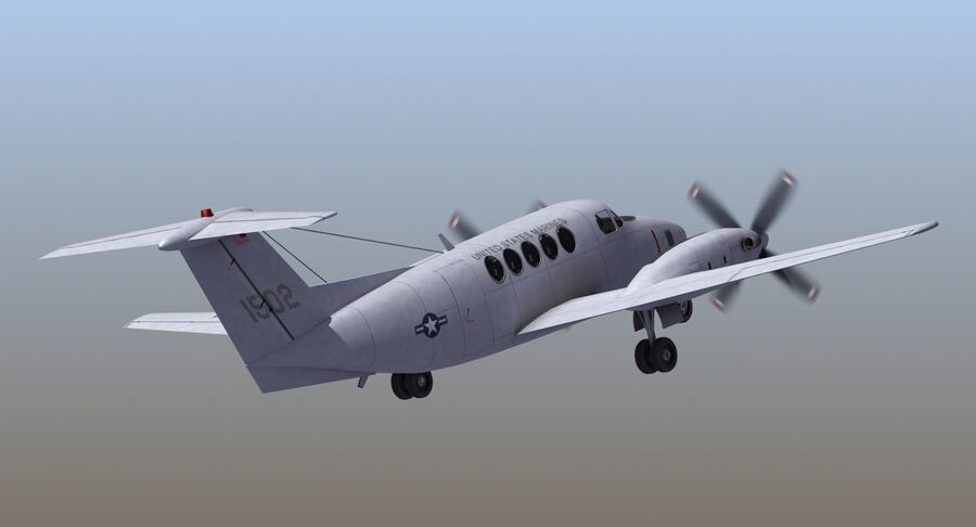 C-12休伦 royalty-free 3d model - Preview no. 8