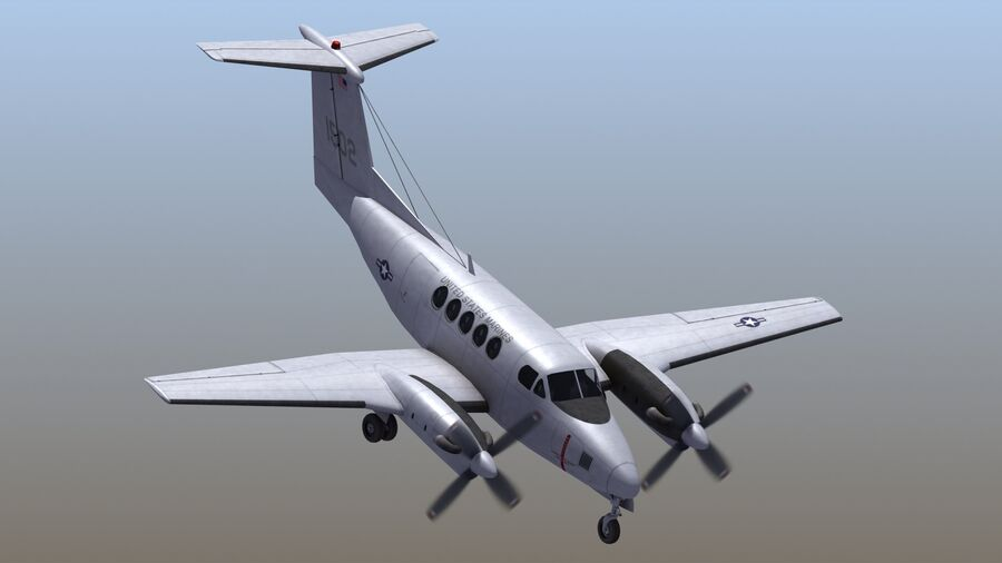 C-12休伦 royalty-free 3d model - Preview no. 56